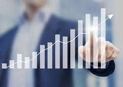 Stijgende lijn verkoopresultaat met verkooptrainingen Coach + Result